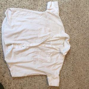 Button Up Boxy Shirt